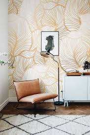 wallpaper on an accent wall.
