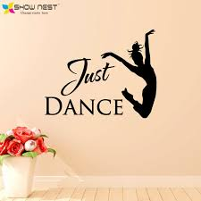 Small Picture Aliexpresscom Buy Just Dance Wall Stickers Home Decor Ballet