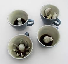 """""""Создания"""" в кофейных чашках. Серия креативной <b>посуды</b> ..."""