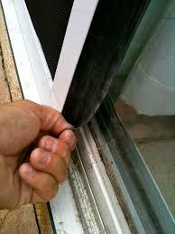 sliding screen door track