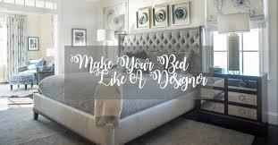 bed like an interior designer