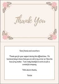 Thank You Note Example Stunning 44 Best Funeral Thank You Cards Thank You Notes Pinterest
