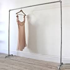 standing clothes rack. Contemporary Standing Diy Clothes Rack Design Inspiration Gray Stain Industrial Pipe  Freestanding Clothing Racks Featuring Inside Standing