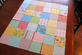 Simple Square Quilt Patterns Beauteous Easy Baby Blanket Patterns To Sew Crazy Little Projects