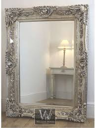 rectangle antique wall mirror