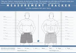 Weight Loss Measurement Tracker Weight Loss And Measurement Tracker Magdalene Project Org