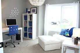 inexpensive office decor. Plain Office Phenomenal Blue Home Office Decorating Inexpensive  And Brown Ideas Throughout Decor S