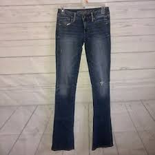Details About American Eagle Skinny Kick Jeans Womens Size 0 Super Stretch Distressed Denim