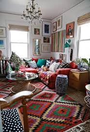 amazing colors bohemian living rooms