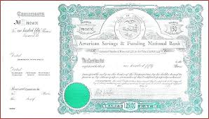 Stock Certificate Template Microsoft Publisher Free Blank Share