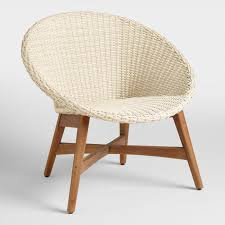 round chairs for bedrooms. Round All Weather Wicker Vernazza Outdoor Chairs Set Of 2 For Bedrooms