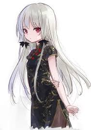 female anime characters with white hair. Modren Hair Lolitive  Projects To Try Pinterest Illustrations Anime And White Hair With Female Characters Hair