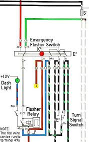 thesamba com beetle late model super 1968 up view topic Turn Signal Flasher Relay Wiring Diagram image may have been reduced in size click image to view fullscreen 3 Wire Turn Signal Diagram