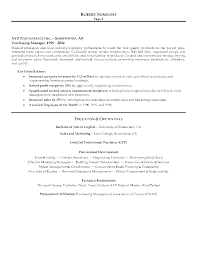 Purchasing Manager Resume Sample Page 2 Canadian Writing Purchase Sa