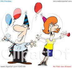 clip art office party clipart clipart kid clip art illustration of a cartoon man and w at an office party by
