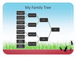 powerpoint family tree template family reunion family tree business charts templates