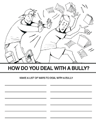 Bullying Coloring Pages Coloring Book Themes