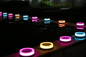 garden led lights. Add Color And Beautiful Ambiance To Your Garden Using Playbulb Smart, Solar-powered LED Lights. During The Day, These Bulbs Absorb Enough Light Power Led Lights