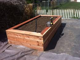 Small Picture Wood For A Raised Garden Bed Interior Design Ideas