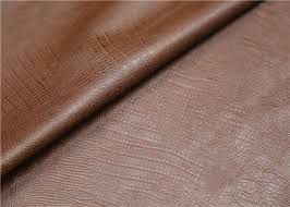0 6 mm brown polyurethane leather fabric twotone effect leather for handbags shoes