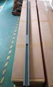 1 8m height pwoder coated aluminum post semi frameless glass pool fencing