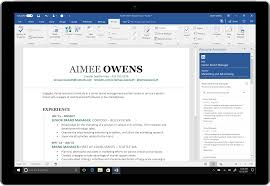 Resume Assistant Word Microsoft Word adds LinkedInpowered Resume Assistant to Office 24 1