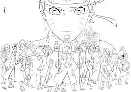 Coloriage De Naruto Demon Renard Collection Coloriage En Ligne