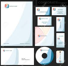 Business Paper Corporate Identity Template Editable Set Design Including Business