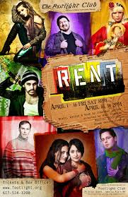 Rent Poster Rent Broadway Musical Poster Archives Hashtag Bg