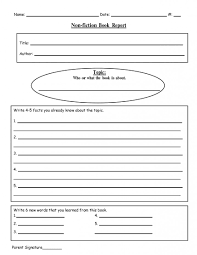 016 Template Ideas Biography Book Report For Writing