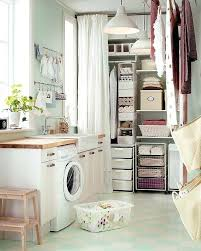 laundry room linen closet tons of well organized storage with ikea design idea