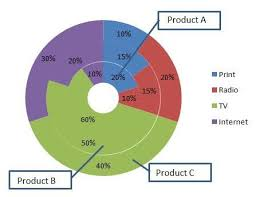 Doughnut Chart Best Excel Tutorial Multi Level Pie Chart
