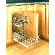 kitchen cabinet sliding shelves sliding kitchen cabinet pull out shelves menards