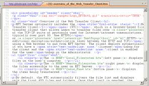 HTML Editor Overview