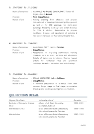 Draftsman Resumes Architectural Draftsman Resume