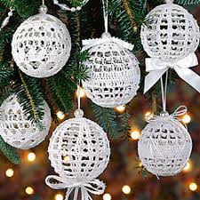 Thread Crochet Patterns Impressive Ravelry Christmas Snowballs Ornament Pattern By Jennie Black