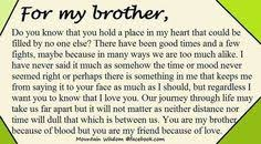 Brother Quotes on Pinterest | Little Brother Quotes, Big Brother ... via Relatably.com