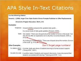 Apa Style For Powerpoint Presentation Lis 590 Directed Fieldwork