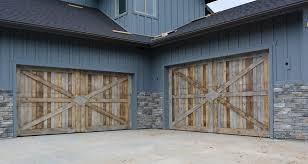 steel carriage house garage door
