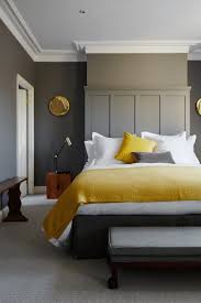 Yellow And Grey Bedroom Decor Thomasmoorehomescom - Grey wall bedroom ideas