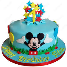 Mickey Mouse Cake 1 Cakesburg
