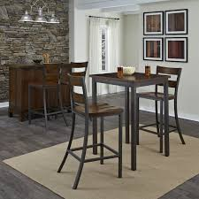 image of wooden bistro table sets