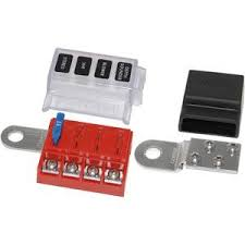 fuse holders west marine st blade battery terminal mount fuse block kit