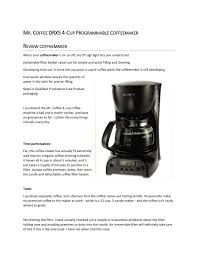 Coffee coffee makers & espresso machines. Mr Coffee By Coffeelover Issuu