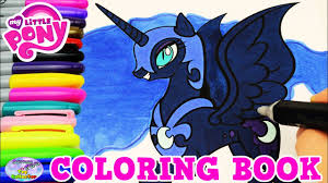 Small Picture My Little Pony Coloring Book Nightmare Moon Episode Colors