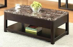 espresso coffee tables dusty faux marble square table lennon storage ottoman by inspire q classic co espresso coffee table set square