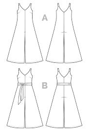 Fashion Designing Books For Beginners Free Download Pdf Amy Jumpsuit Pattern Pdf Download Jumpsuit Pattern Plus