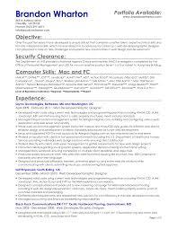 Resume Sample Personal 11 Resume Sample Objectives Statement