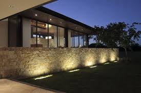 stylish design outdoor fence lighting pleasing outdoor stone wall lights