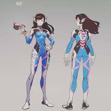 Dva Concept Design Pin By Diogo Reis On Female Character Character Modeling